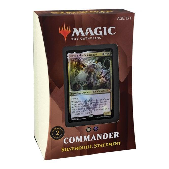 MTG: Strixhaven School of Mages Commander Deck - Silverquill Statement