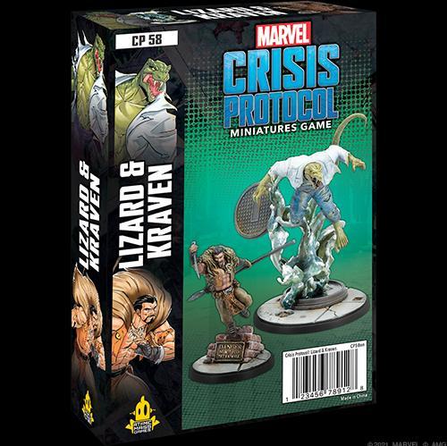 Lizard and Kraven: Marvel Crisis Protocol Miniatures Game