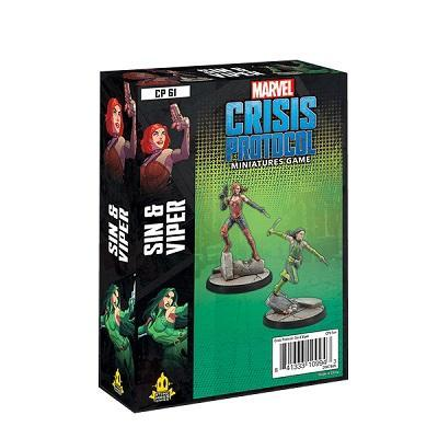 Sin and Viper Character Pack: Marvel Crisis Protocol