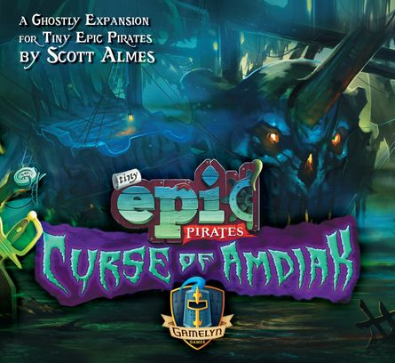 Tiny Epic Pirates: Curse of Amdiak Expansion