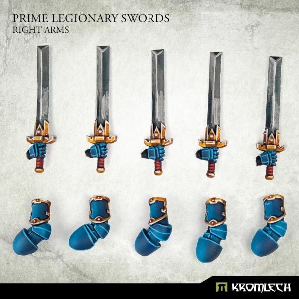 Prime Legionaries CCW Arms: Swords [right] (5)