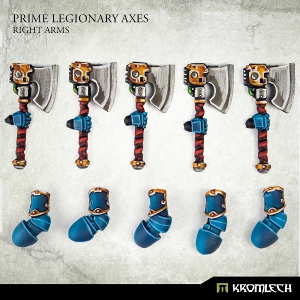 Prime Legionaries CCW Arms: Axes [right] (5)