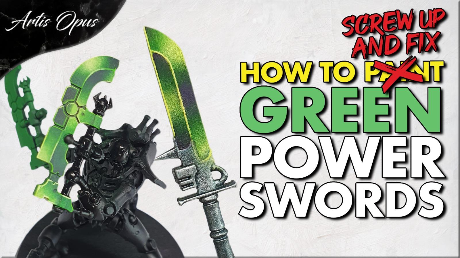 Artis Opus Green Sword Bundle
