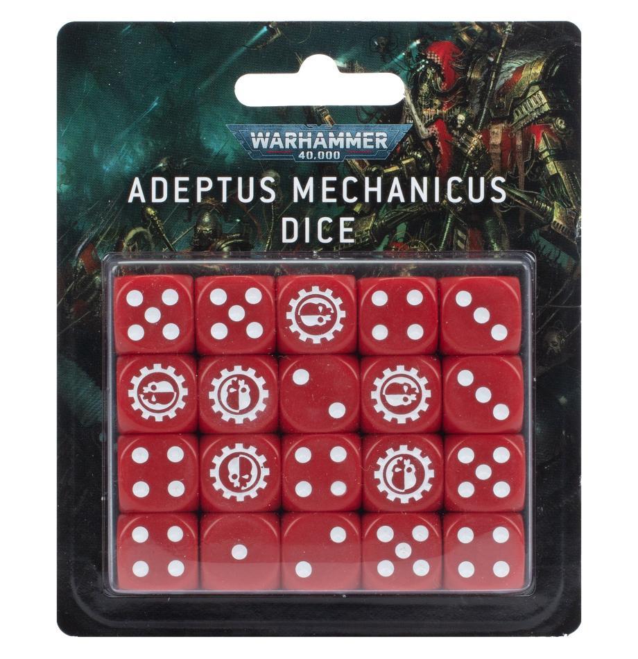 Warhammer 40000: Adeptus Mechanicus Dice