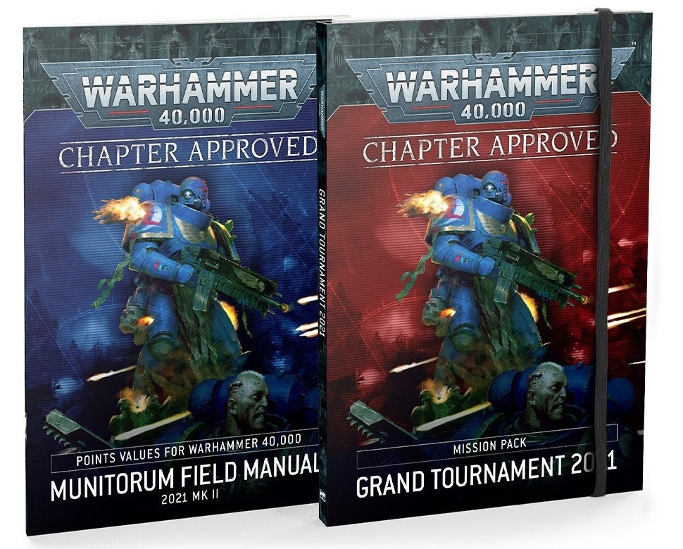 Chapter Approved: Grand Tournament 2021 Mission Pack and Munitorum Field Manual 2021 MkII (English)