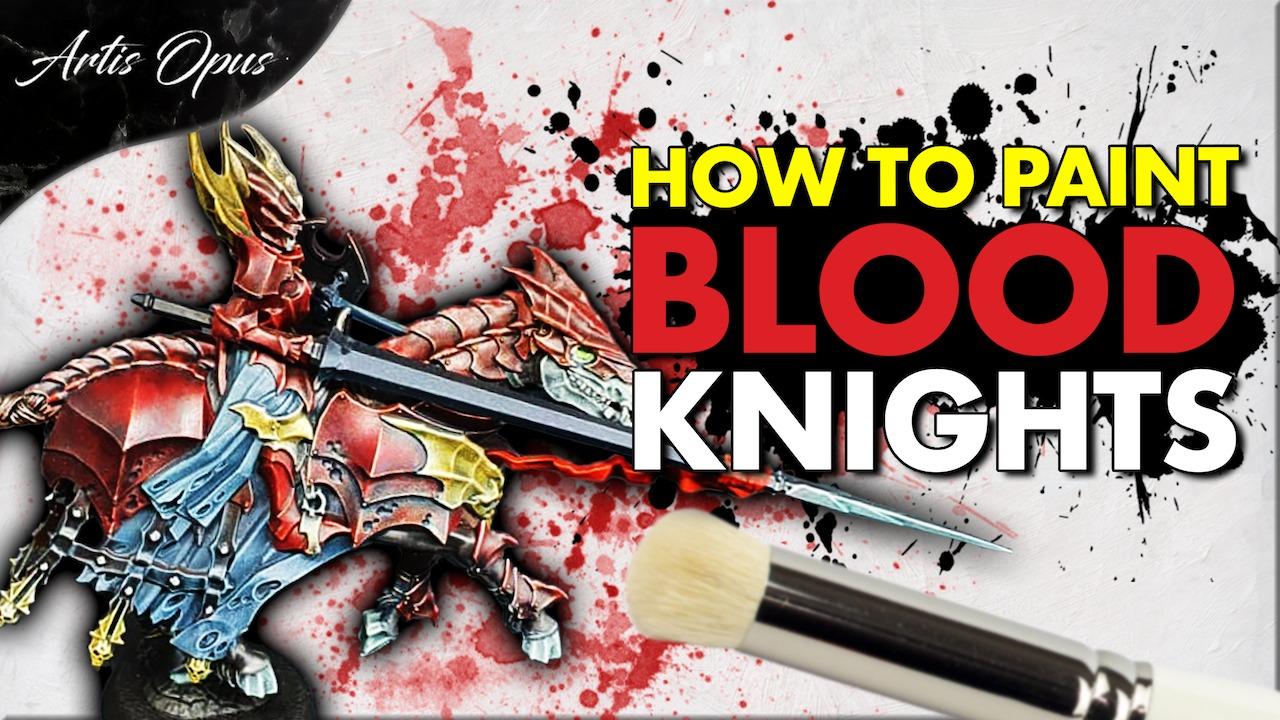 Artis Opus Blood Knight Armour