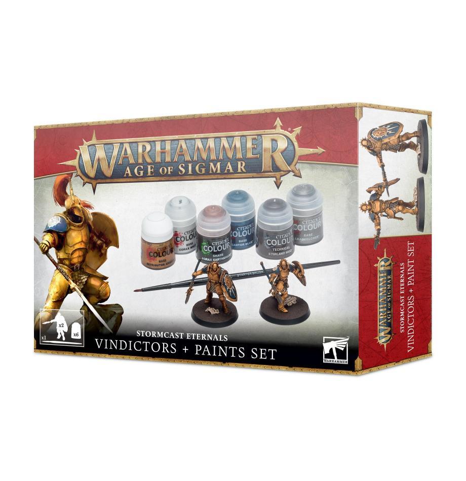 Age of Sigmar Stormcast Eternals and Paint Set