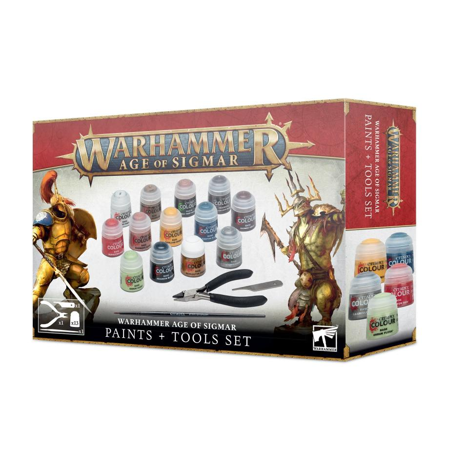 Age of Sigmar Paints and Tools NEW VERSION