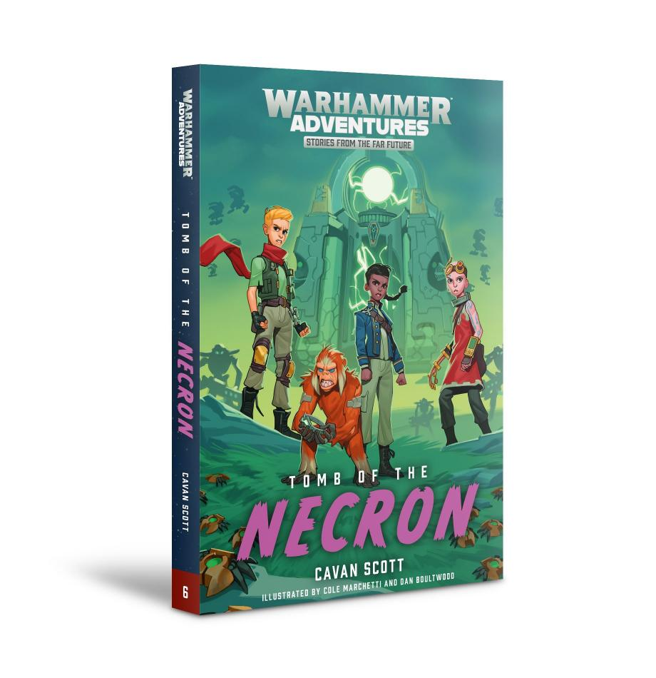 WARPED GALAXIES:TOMB OF THE NECRONS (PB)