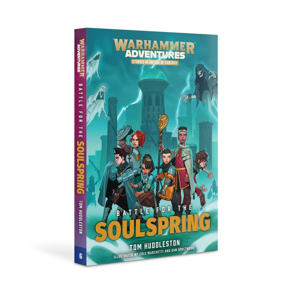 RealmQuest: BATTLE FOR THE SOULSPRING (PB)