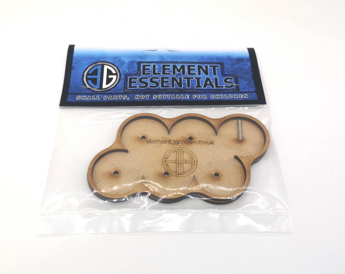 Element 32mm 6's Movement Tray With Magnets