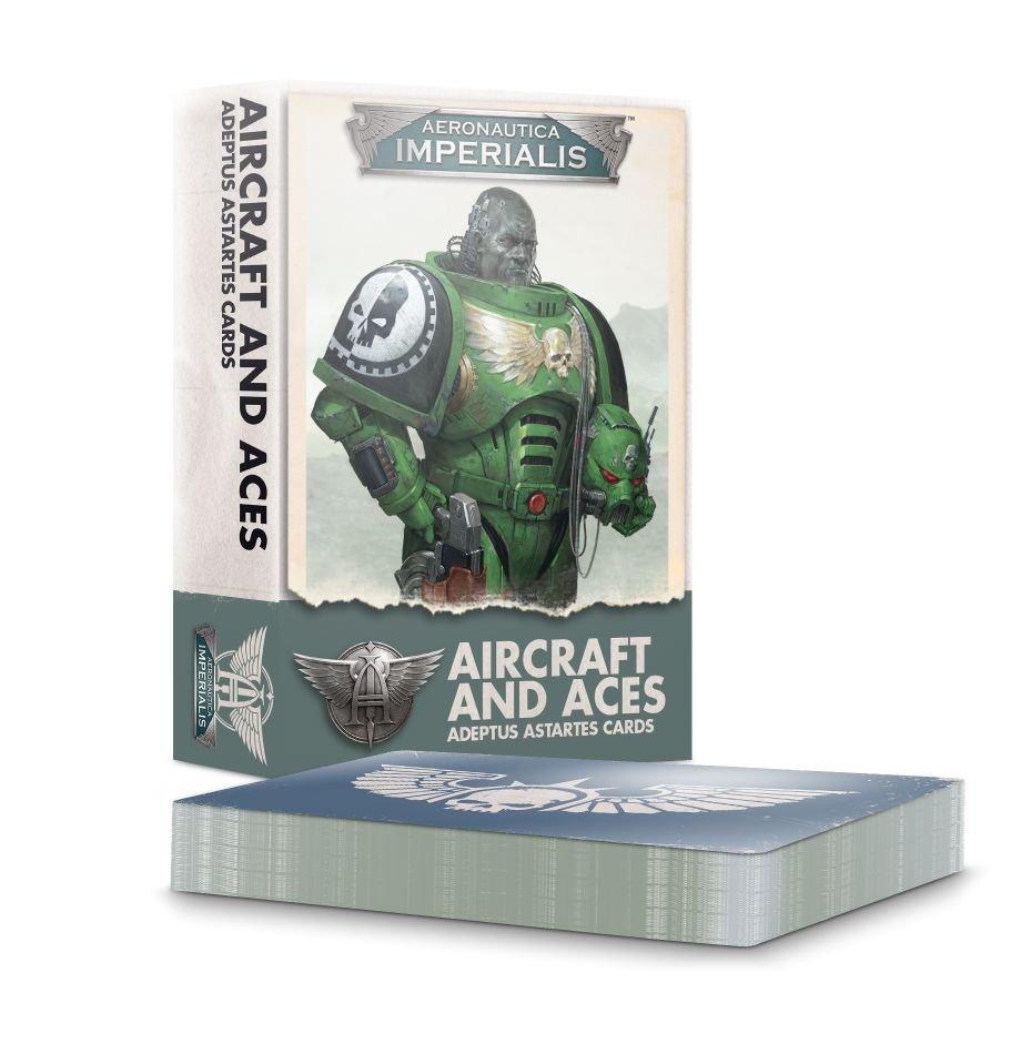 Aeronautica Imperialis: Adeptus Astartes Aircraft & Aces Cards