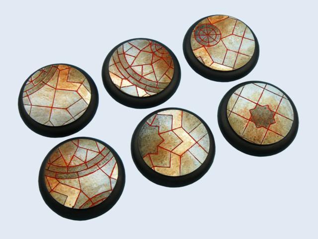 Mosaic Bases, Wround 40mm (2)