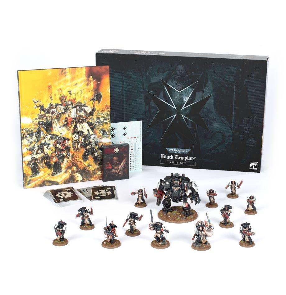 Black Templars Army Set (English)
