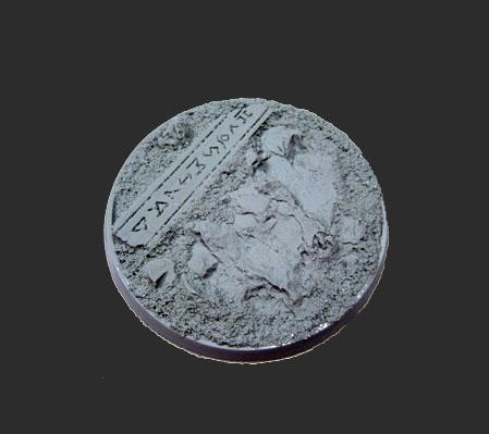 (1) Beveled Edge: 60mm Runic Mountain 03