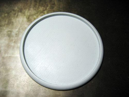 Round Lip: 100mm Hollow Blank (1)
