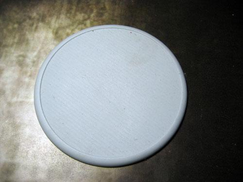 Round Lip: 100mm Solid Blank (1)