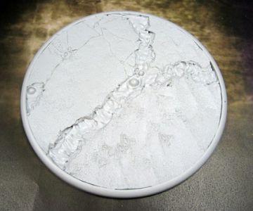 Round Lip: 120mm Lava Flow Base (1)