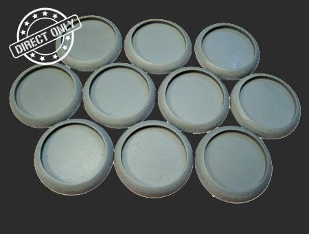 Round Lip: 30mm Hollow Blanks (10)