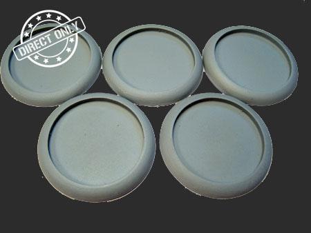 Round Lip: 40mm Hollow Blanks (5)