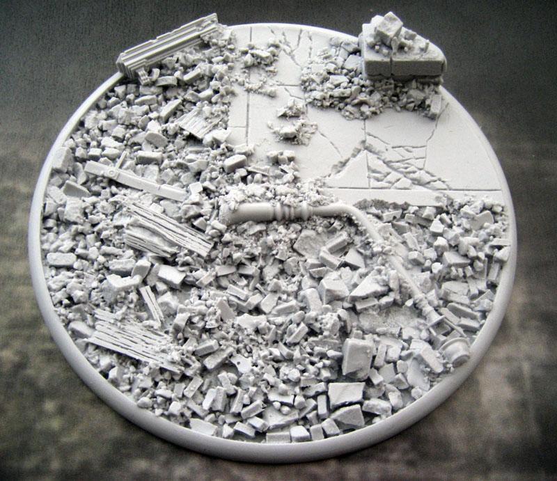 Round Lip: 120mm Urban Rubble Base (1)