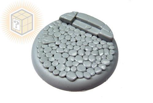 (1) Round Lip: 50mm Cobblestone 01