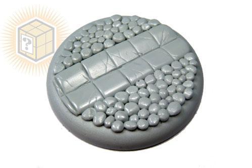 (1) Round Lip: 50mm Cobblestone 02