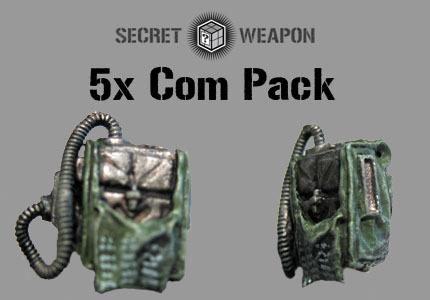 (5) Communications Backpacks