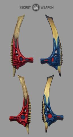 (2) Bio Swords - Large