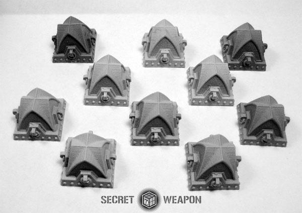 Terrain: Gothic Tank Traps