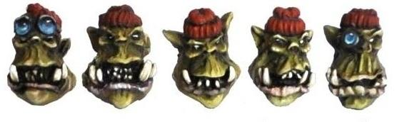 OW2 Orc Commando Heads (10)