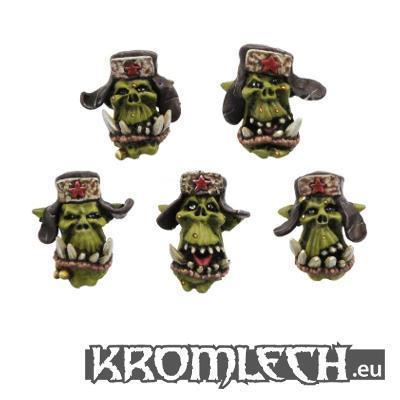 Orc Soviet Heads (10) (TBA)