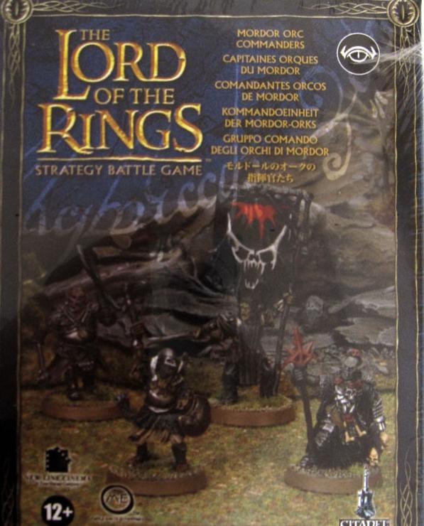 Mordor Orc Commanders