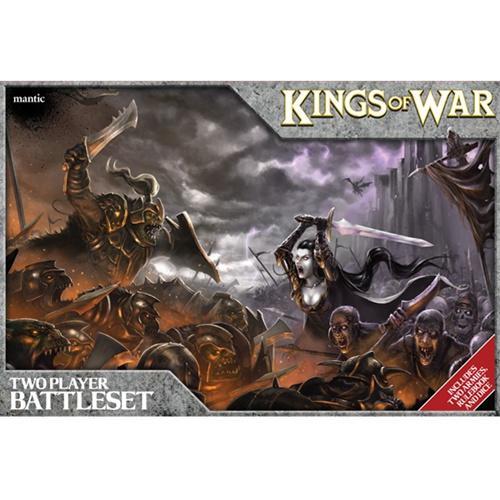 Kings Of War Two Player Battleset